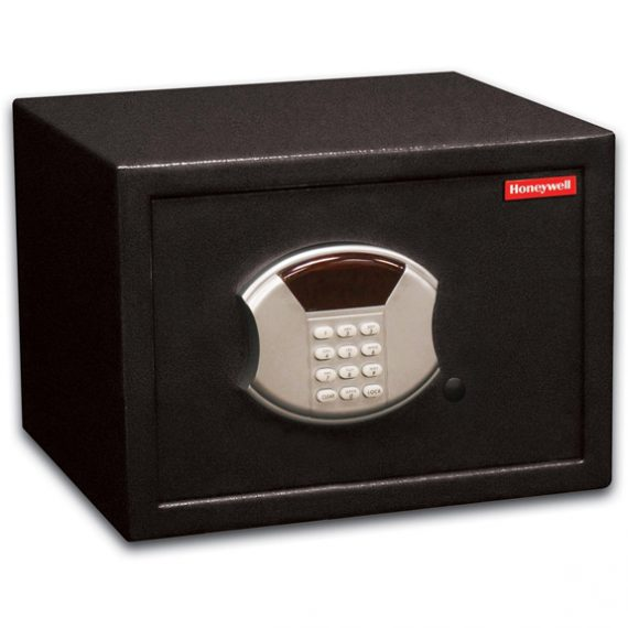 Honeywell 5113 Safe Mid-Size Steel Security Safe / .60 cu. ft. Capacity - Black