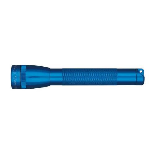 Maglite Mini-Mag Flashlight - AA Mini Mag Blister/Royal Blue