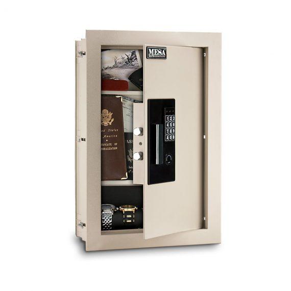 Mesa Safes MAWS2113E Safe - Adjustable Wall Safe