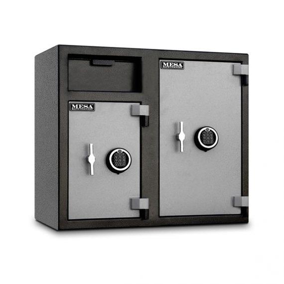 Mesa Safes MFL2731 Safe - Depository Safe w/ Double Doors - 2.5 & 4 Cubic Feet