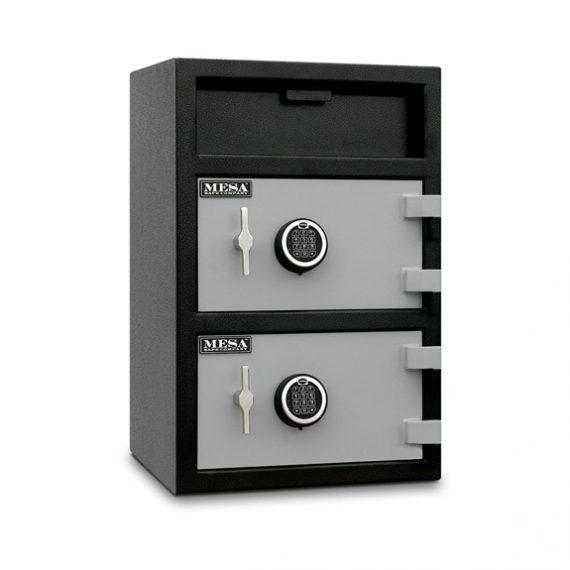 Mesa Safes MFL3020 Safe - Depository Safe w/ Double Doors - 1.6 & 2.0 Cubic Feet