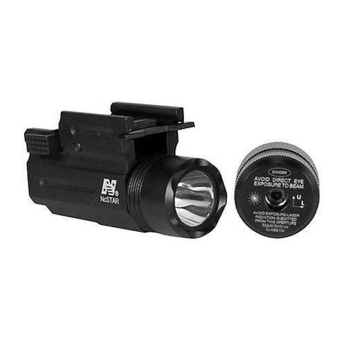 NcStar Green Laser Sight - Compact Flashlight/Laser w/QR Mt