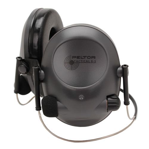 Peltor Tactical Hearing Protectors - Tact 6S Behind-The-Head Protector