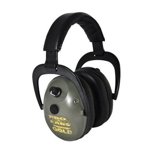 Pro Ears Pro 300 - Pro 300 Green, Behind the Head