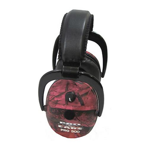 Pro Ears Pro 300 - Pro 300 NRR 26 RealTree Pink Camo