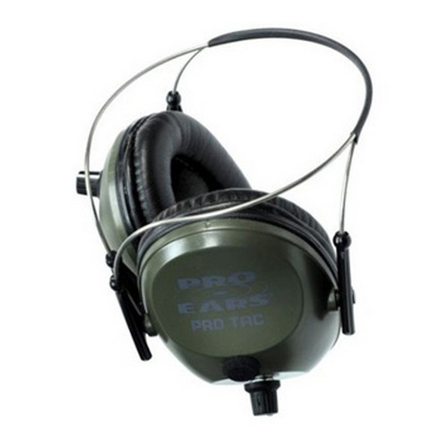 Pro Ears Pro Tac 300 - Pro Tac 300 Green,Behind the Head