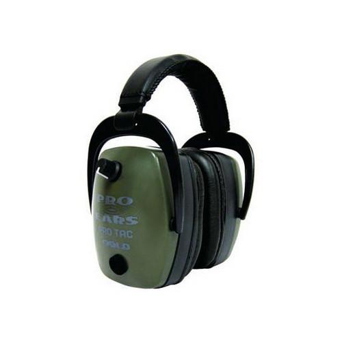 Pro Ears Pro Tac Mag Gold NRR 33 - Pro Tac Mag Gold Green