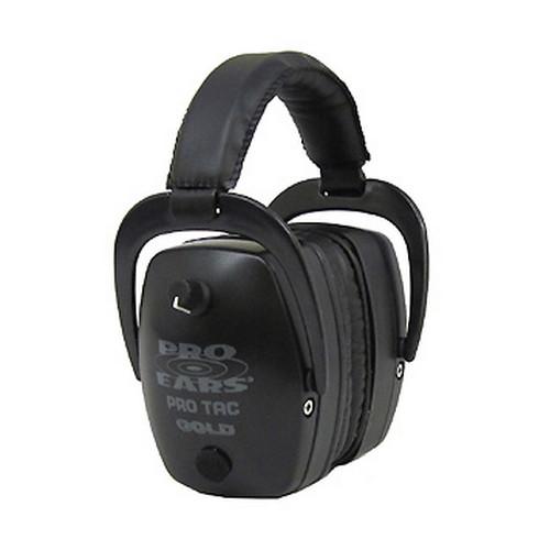 Pro Ears Pro Tac Mag Gold NRR 33 - ProTac Mag Gld NRR 33 Blk-Li