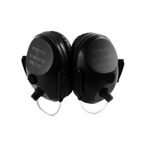 Pro Ears Pro Tac Plus Gold - Pro Tac Plus Gold Black, Behind the Head