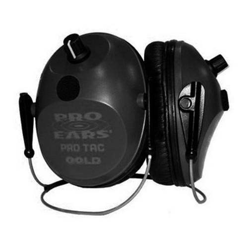 Pro Ears Pro Tac Plus Gold - Pro Tac Plus Gold Black,Behind Head,Lithi