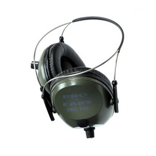 Pro Ears Pro Tac Plus Gold - Pro Tac Plus Gold Green, Behind the Head
