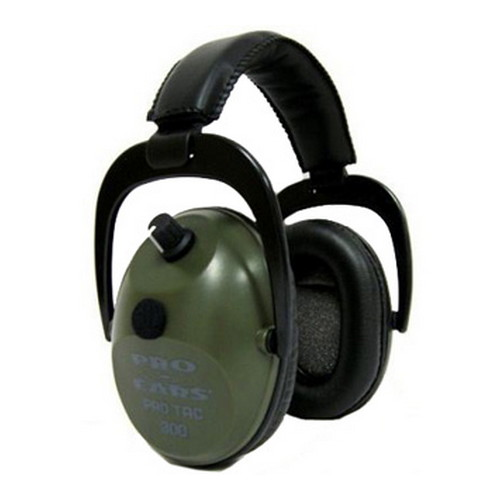 Pro Ears Pro Tac Plus Gold - Pro Tac Plus Gold Green, Lithium 123 Batt -