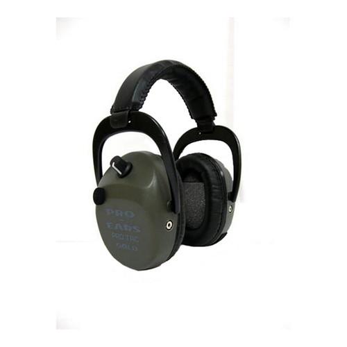 Pro Ears Pro Tac SC Gold - Pro Tac SC Gold Green , Lithium 123 Batt