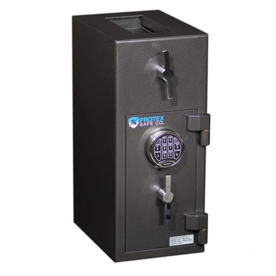 Protex RD-2410 B-rated Tall - Top Rotary Depository Safe