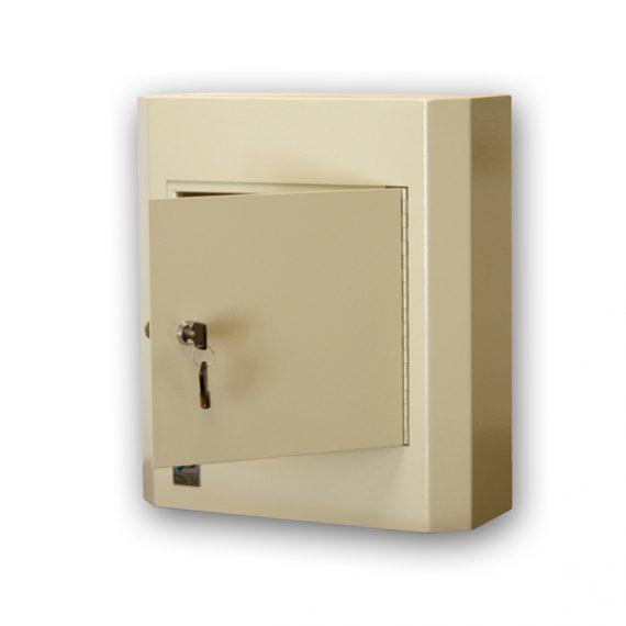 Protex SDL-400K Wall Mounted Drop Box With Key Lock