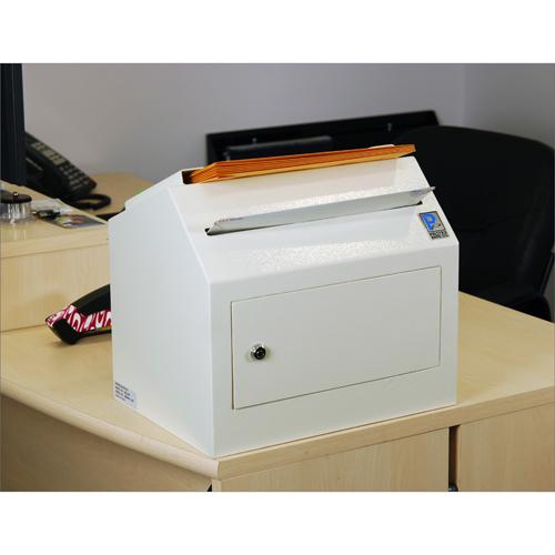 Protex SDL-500 Safe - Desktop/ Wall-Mount Locking, Payment Drop Box