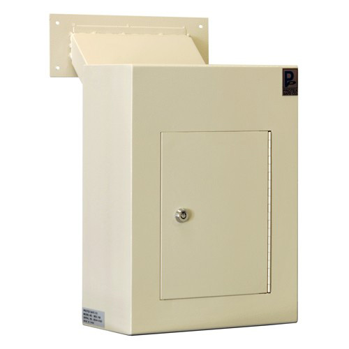 Protex WDC-160 Through-The-Wall Locking Drop Box With Chute