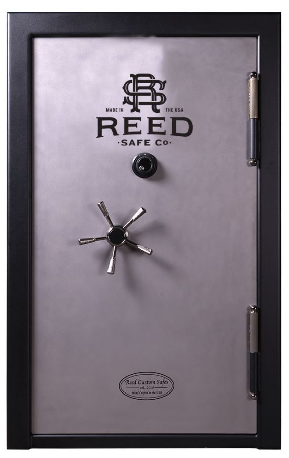 Reed Custom - Model 4064 SS Safe - SS7 Collection - 38 Gun 90 Minute Fire Rating - 7 Gauge 409 Stainless Steel