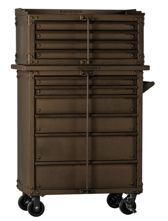 """Rhino - IWTC4437D - Ironworks Tool Chest - 44""""H x 37""""W x 23""""D - Bottom Unit Only"""