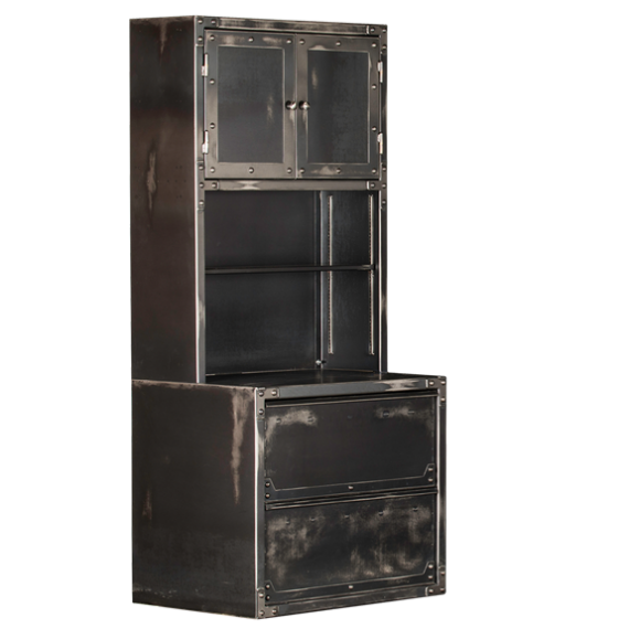 Rhino Ironworks Hutch and Lateral File