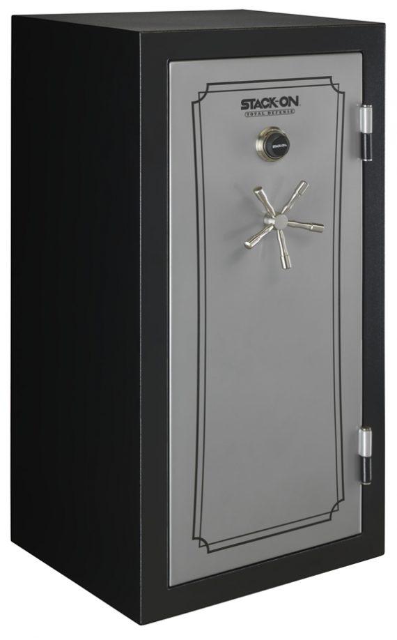 Stack-On Total Defense 36-40 Gun Safe w/Combination Lock Silver/Black