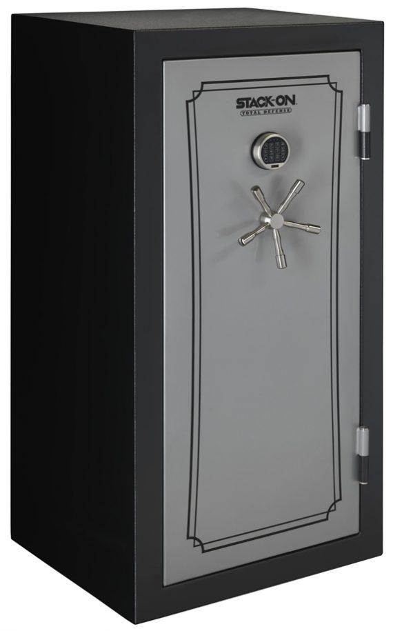 Stack-On Total Defense 36-40 Gun Safe w/Electronic Lock Black/Silver