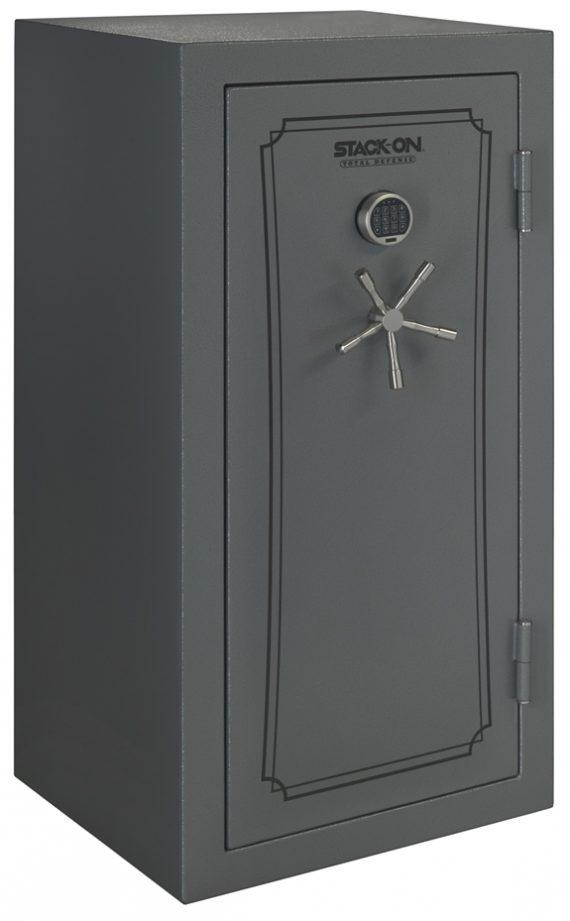 Stack-On Total Defense 36-40 Gun Safe w/Electronic Lock Grey Pepple