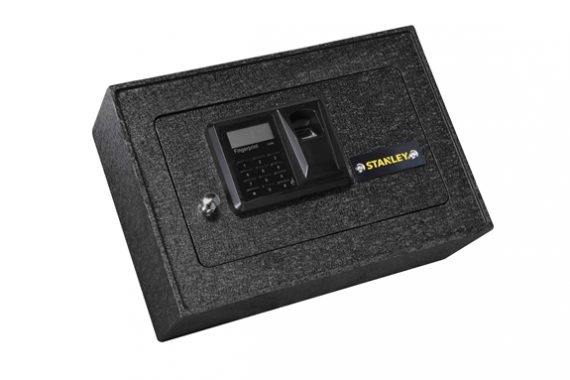 "Stanley Tools - STFPKP110 - Biometric Drawer Safe - 8.7""H x 12.6""W x 4.3""D"