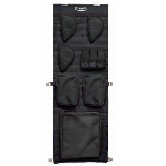 Stealth Tactical Door Panel Organizer Molle Webbing - Small