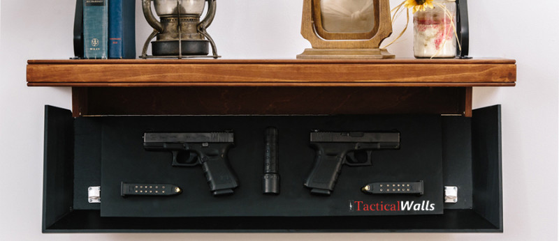 Tactical Walls - 825 Tactical Pistol Length Shelf
