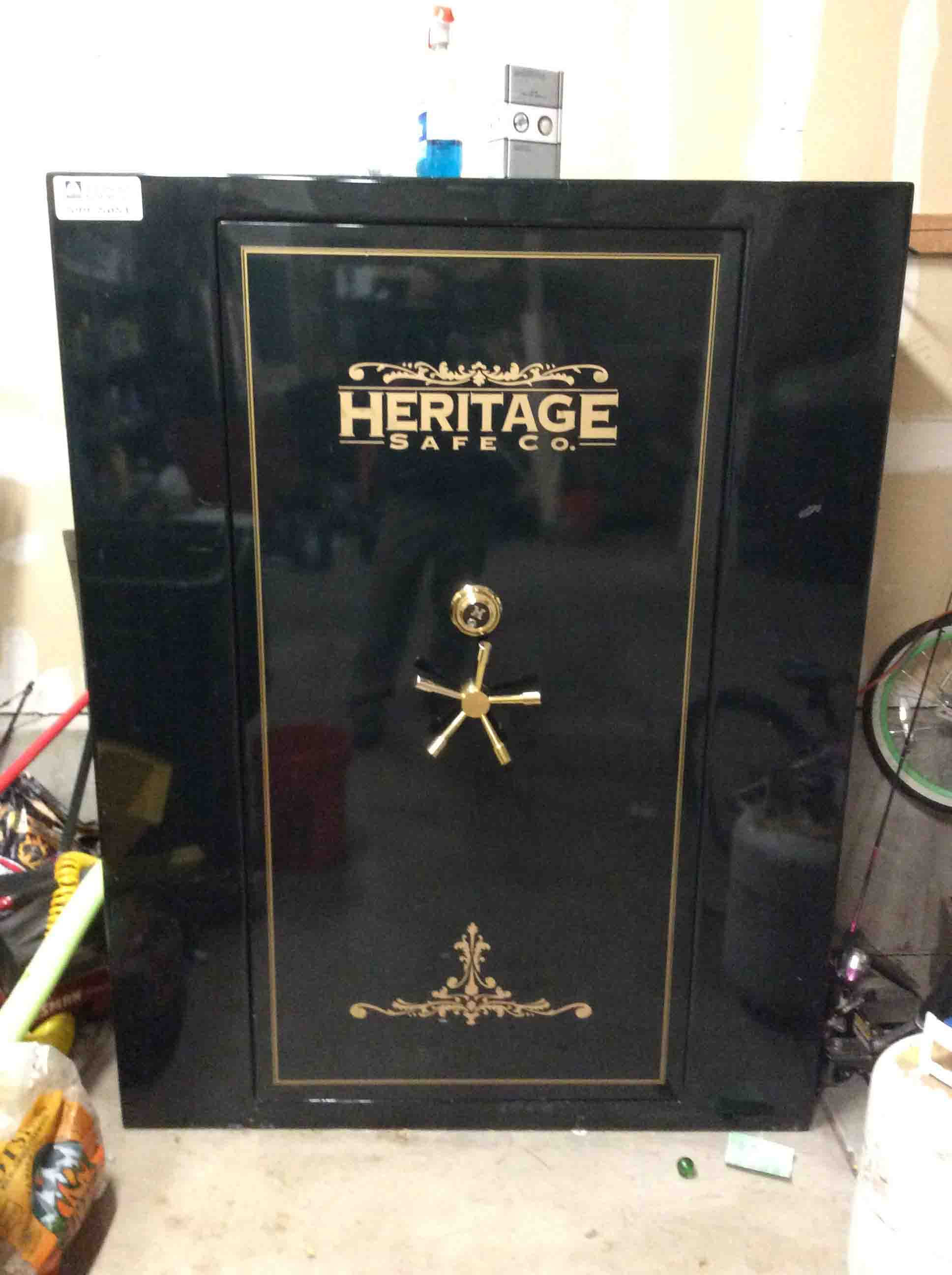 *USED* Heritage Traditional TX5672 Safe - 76 Gun 75 Min Fire Rated Safe
