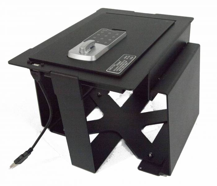 Lock'er Down EXxtreme Console Safe 2009 - 2012 Ford F150 w/ Full Floor Console (Will fit RAPTOR PLATINUM)